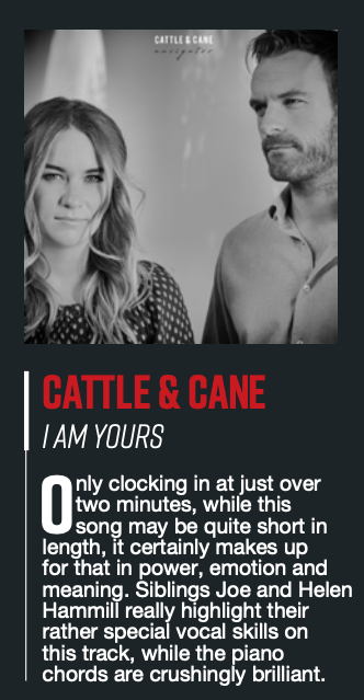 Cattle & Cane - I Am Yours Maverick Mag